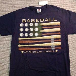 Baseball theme t-shirt